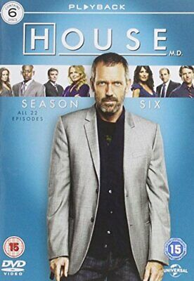 House - Season 6 [DVD] - DVD  LEVG The Cheap Fast Free Post