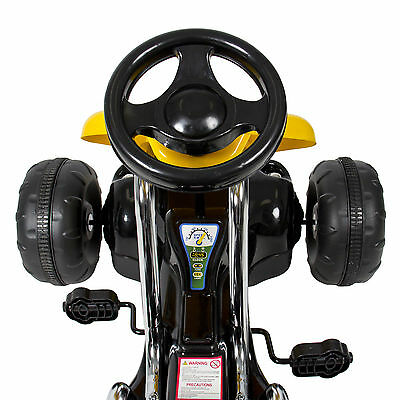Go Kart 4 Wheel Kids Ride on Car Stealth Pedal Powered Outdoor xx