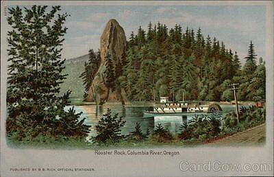 1905 Lewis & Clark Columbia River OR Rooster Rock Oregon B. B. Rich Offical Stat