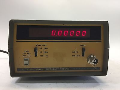 HP Hewlett Packard 5383A 520MHz Frequency Counter