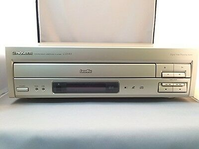 Pioneer Japan Japanese Laserdisc Laser Disc LD/CD Player CLD-R5 Mint Working