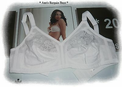 Target Collection-*-Women's-Size 14D-Wire Free Bra-/-White-NWOT