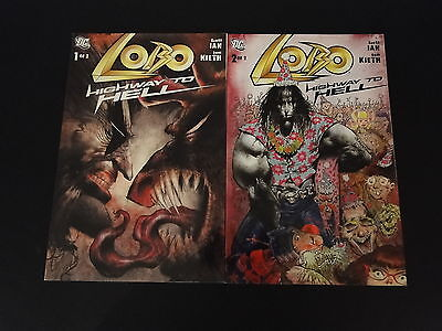 LOBO Highway to Hell 1 & 2 Complete Set DC Comics Sam Keith Scott Ian