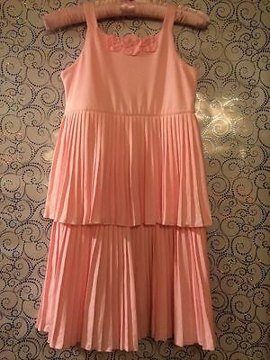 New with tags!Gymboree girl's full-lining Pleated Cake Pink Dress($39.95)/Size10