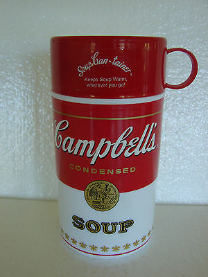Campbell's Soup Thermos Kids Lunchbox Thermos VTG Soup-Can-Tainer