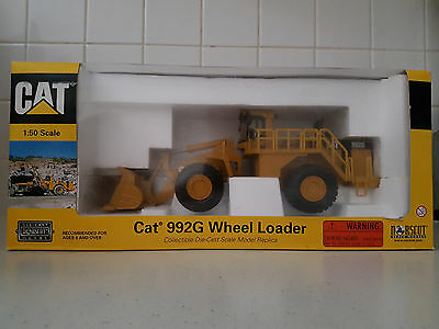 Cat 992G Wheel Loader Norscot 1:50 Scale