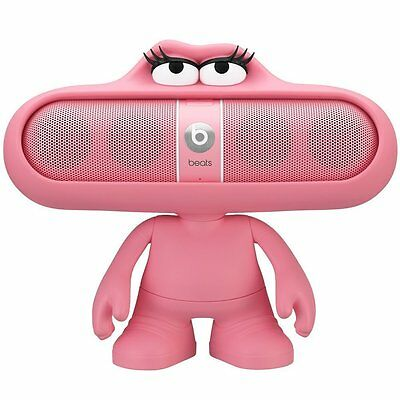 Official Beats by Dr. Dre Pill Dude Character Speaker Holder - Pink-New & Sealed