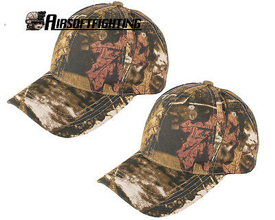 2X Army Baseball Caps Military Outdoor Hunting Camouflage Fishing adjustable Hat