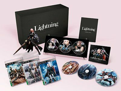 FINAL FANTASY FF XIII 8 LIGHTNING ULTIMATE BOX e-STORE Limited Japan Game Mint