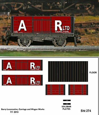 Re-Life Decals For Hornby Dublo  Scottish Coal Traders Set-5