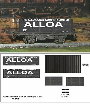 Re-Life Decals For Hornby Dublo  Scottish Coal Traders Set-1