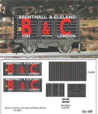 Re-Life Decals For Hornby Dublo  London Coal Traders Set-1