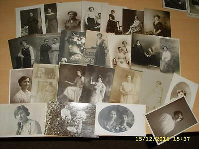 Collection Of Vintage Postcards - Ladies  Social History