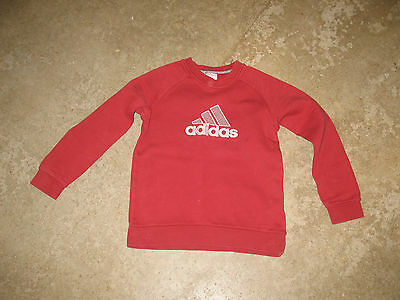 sweet ADIDAS rouge taille 8 ans