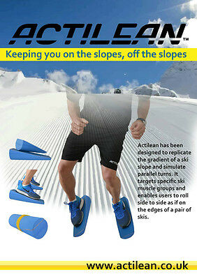 ACTILEAN Ski fitness roller IMPROVE Core stability, Muscle Memory & Edge Control