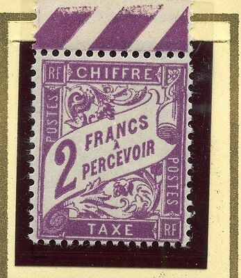 Stamp / Timbre De France Taxe Neuf N° 42 **