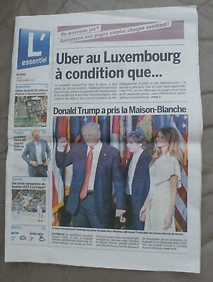 TRUMP - victory - Luxembourg newspaper