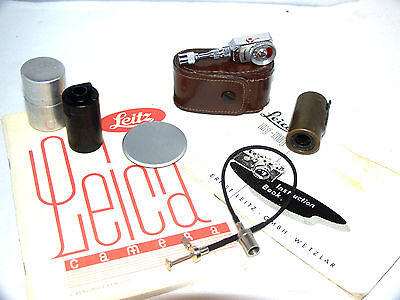 Leica and Leica Camera Associated Accessories