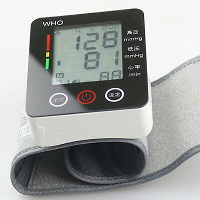CK-W132 Touch Wrist Blood Pressure Monitor Watch Medical Arm Meter Pulse SW