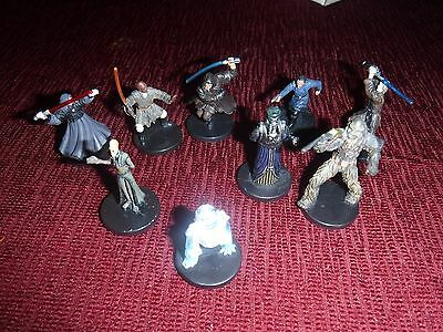 Star Wars miniatures rares/ ultra rares from revenge of the sith, free shipping