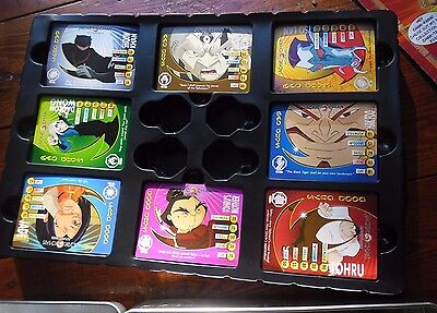 Jackie Chan Adventures Large Bundle Collection Cards and Tin- Cards in Exc Cond