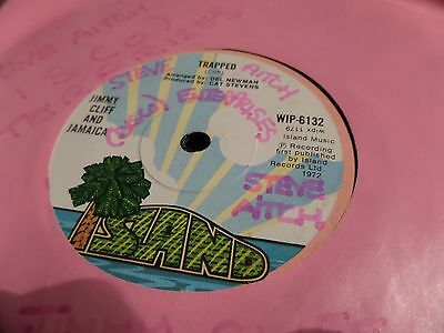 "Jimmy Cliff & Jamaica Trapped 7"" Single 45rpm"