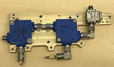 Various Microwave Components 2.5 - 10 Ghz