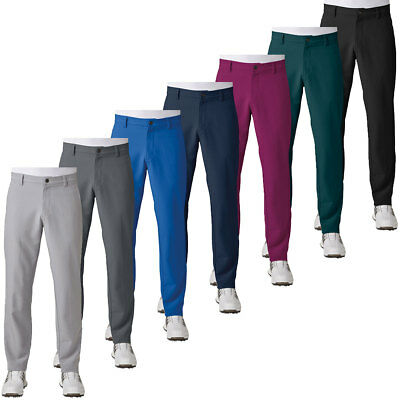 Adidas Golf 2017 Mens Ultimate + 3-Stripes Pant Trousers Stretch Breathable