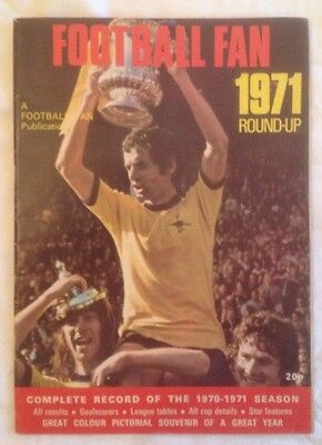 Football Fan 1971 Round-Up Review Magazine 1970/71 Season
