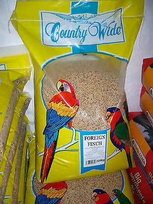 Countrywide Foreign Finch Mix 20 kg aviary bird seed