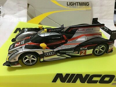 50607 Ninco Lightning Audi R18 Sebring Slot Car 1:32 Scale