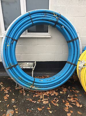 50Mm X 100Mtr Coil Blue Mdpe Water Mains Pipe