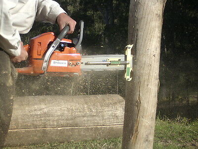 Mortice Safe Chainsaw Attachment Mortise Mini Fencing Post and Rail Fencing