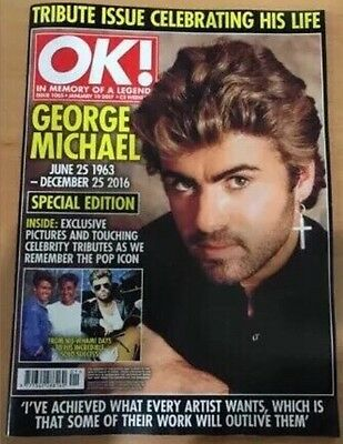 George Michael OK Magazine Special Edition Tribute 2017 Mint Collectors Edition
