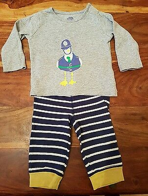 Baby Boden long sleeve tshirt & joggers set 6-12 months