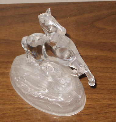 Cristal D'Arques 6.5 inch Lead Crystal Figure Horse