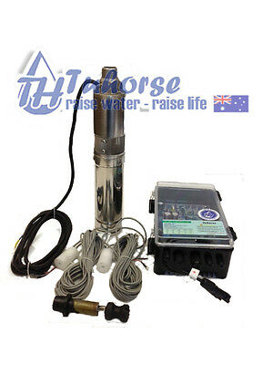"""4"""" 500W/48V Screw Submersible Solar Bore Pump/40m cable & Free delivery"""