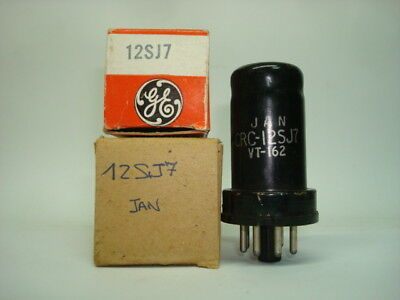 12Sj7 - Vt162 Tube. Mixed Brand Tube. Nos/nib. Rcb217