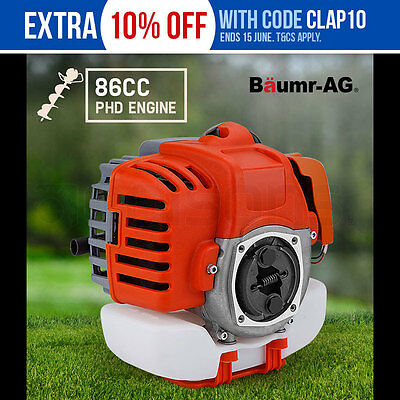 NEW Baumr-AG Engine for Post Hole Digger Replacement 86CC Earth Auger Borer