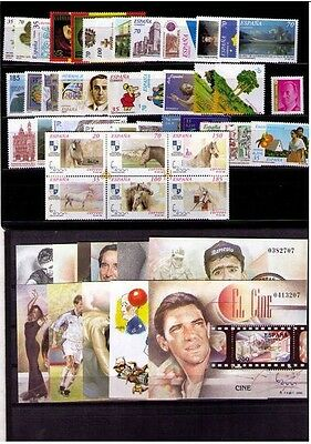 Spain Complete Year 2000  MNH Luxe