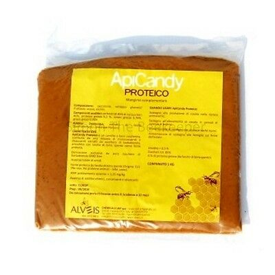 ApiCandy PROTEICO 4 x 1kg Pouch - Beekeeping Bee Food