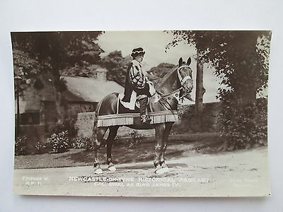 Old RP Postcard - Newcastle-On-Tyne , Historical Pageant .