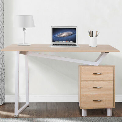 Life Carver 2017 Wooden Office Computer Desk Writing Table with Compact Design