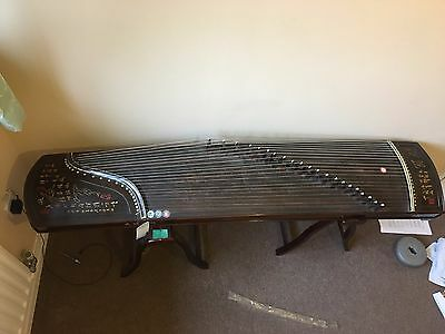 New Condition Guzheng From China W/ Stand And Accessories