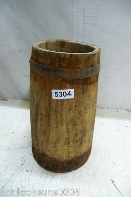 5304. Altes Holzfass Fass Getreidefass Old wooden barrel