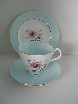 ROYAL ALBERT ' ELFIN ' CUP, SAUCER and PLATE .