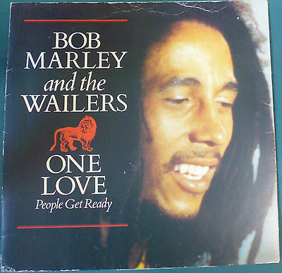 "Bob Marley And The Wailers -  Vinyl 10"" Single - One Love"