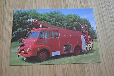 Northern Area Fire Brigade Bedford S Series Pump Escape Fire Appliance Postcard