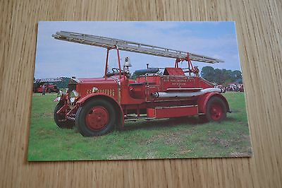 Avon India Rubber Co. Dennis Fire Appliance Postcard
