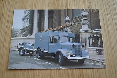 1942 Austin K2 Auxiliary Towing Vehicle Fire Appliance Postcard